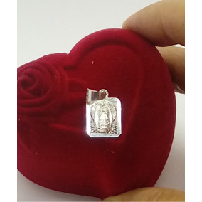 Dije Virgen Guadalupe Plata Ley .925 Unisex Hombre Mujer