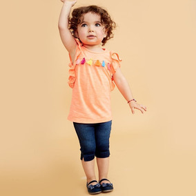 Conjunto Casual P/ Niña Mod 6766 Baby Pink Gratis Dhl