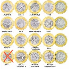 Moedas Comemorativas Olimpíadas E Paraolimpíadas 2016