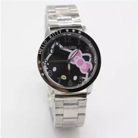 Reloj De Puls Hello Kitty Metal Acero Inoxidable Dama