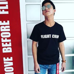 Playera Caballero Flight Crew Genuina Remove Before Flight®