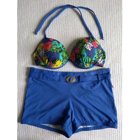 Biquini Shortinho Tamanho Gg - Biquinis GG Femininas Azul no Mercado ... 944a56931a7a1