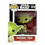 Funko Pop Star Wars 124 Dagobah Yoda Magic4ever