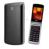 Telefone Celular Lg G360 2chips E-1270 Teclado Tela Grandes*