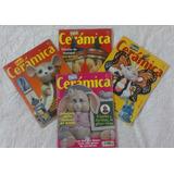 Revistas Técnicas De Pintar Cerámica (combo)
