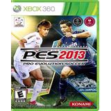Pes 2013 Pro Evolution Soccer Xbox 360 Nuevo Y Sellado
