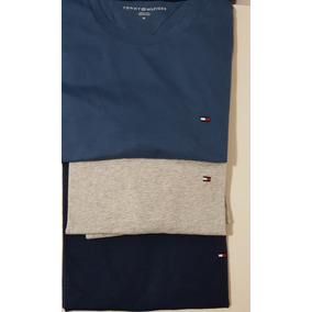 Remera Tommy Hilfiger Cuello Base