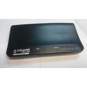 Switche Advantek Network 8 Puertos