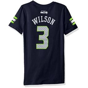 Las Niñas 7 - 16 Russell Wilson Seattle Seahawks Nfl Reprodu 26a89d298d1