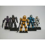 Enigma777 Mega Bloks Halo 5 Figuras Lote 10 Brute Eod Cqb