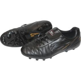 Zapatos Futbol Soccer Olmeca Upper Az En Piel/mf
