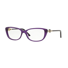9d9ea1e0cd Versace Ve3206 Cuadros De Gafas Opal Violet