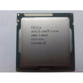 Procesador Intel I7 3770 - 3.40 Ghz