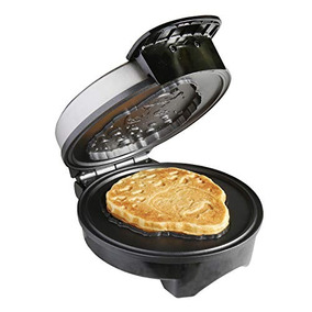 Uncanny Brands Bob Ross Waffle Maker - Bob Iconic Face On Y 0e7f486311b6