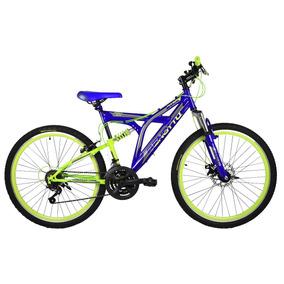 Bicicleta Benotto Rush R 26 Suspensión Y Freno De Disco