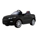 Auto Range Rover Eléctrico Negro, Licencia Original
