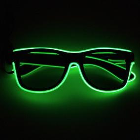 913a1706e18b7 Óculos Led Neon - Lente Escura - Rave Balada Festa Casamento