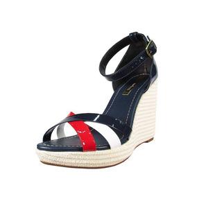 a8dfe5c9f Sandalia Anabela Moleca Vermelha Sapatos - Sapatos no Mercado Livre ...