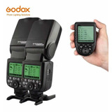 2 Flash Godox Tt685s + Trigger Godox Xpro-s
