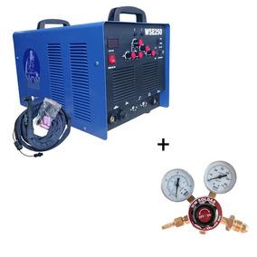 Máquina Tig Wse250a Inversora Ac/dc Aluminio + Reg Argônio