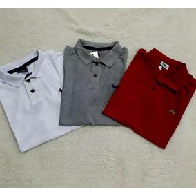 Kit Camisa Polo Tamanhos Extra Grande - Pólos Manga Curta Masculinas ... 1137ac3e94e0a