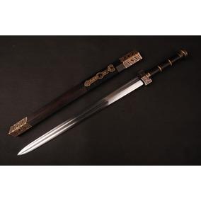 Espada Chinesa Tradicional Dinastia Han Jian Wushu Kung Fu