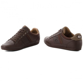 Tenis Lacoste Chaymon Original Cafe Chocolate Oscuro A Meses