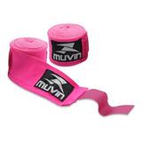 Bandagem Elástica Profissional 5 Metros (atadura) Boxe Muvin