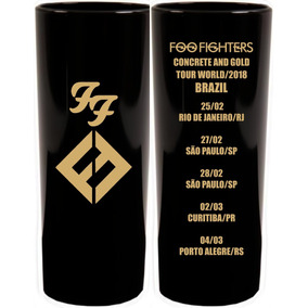 10 Copos Long Drink Foo Fighters Tour/2018 - Show No Brasil!