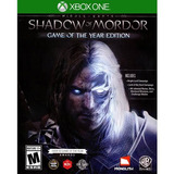 Shadow Of Mordor: Game Of The Year Edition Para Xbox One.