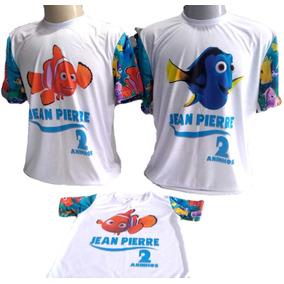 Kit Com 3 Camisetas Personalizadas Temas