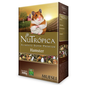 Ração Nutrópica Para Hamster Muesli - 300g