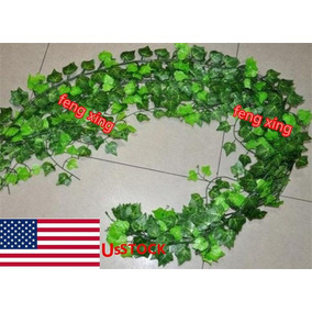 78ft Faux Sweet Potato Leaf Vine - 78ft Artificial Bata-7835