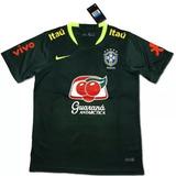 0529281c57 Camisa Verde Escuro Seleção Brasileira no Mercado Livre Brasil
