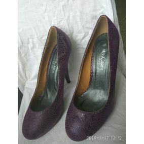 Zapatos Taco Violeta Lila Oscuro - Zapatos de Mujer en Mercado Libre ... 1e63fa2c4273