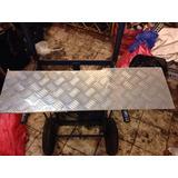 Retazo De Plancha Dé Aluminio Diamantada 84x23cms 3 Mm