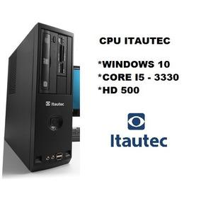 Desktop Itautec Core I5 3.00ghz 4gb Ddr3 Hd 500 (promoção)