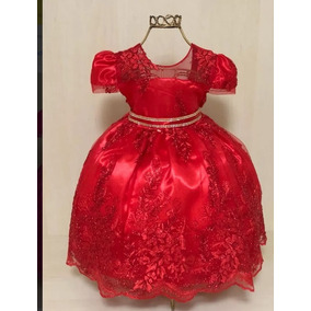 Vestido Pink Infantil Realeza Tam 1,2,3,4 2192