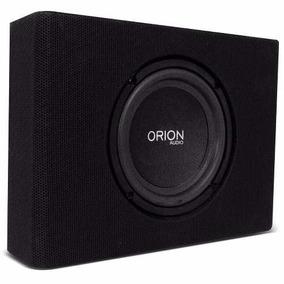 Caixa Slim Amplificada Sub 8 Pol P/ Embaixo Banco 580w Orion