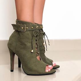 Sandalias Tipo Botin Para Dama