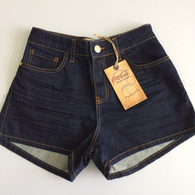 Short Feminino Hot Pants Coca Cola Jeans Original 50106