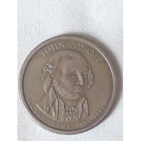 Moneda De 1.00 Dollar, Presidente Jhon Adams