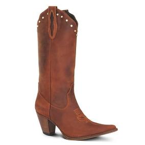Bota Texana Feminina Havana - Sapatos no Mercado Livre Brasil 55a51db5fe1