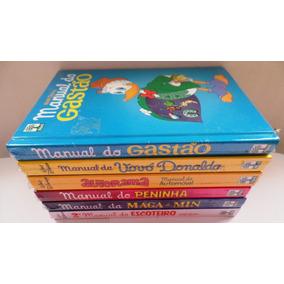 Kit Manual Disney 6 Livros Gastão Pateta Maga E Min Lacrados