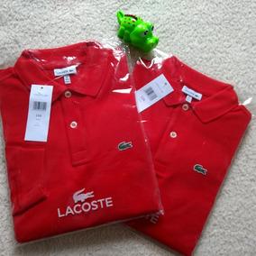 07d206034a0a9 Camiseta Polo Lacoste Infantil - Calçados, Roupas e Bolsas no ...