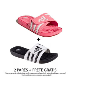 ba3e19a4629 Chinelo adidas Adissage - 2 Pares + Frete Grátis - Unissex