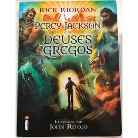 Livros Percy Jackson E Os Deuses Gregos + Guia Definitivo