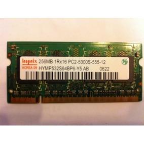 Sodimm Memoria Laptop Hynix 256mb Pc2 555