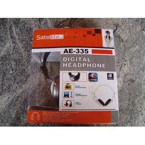 Fone Ouvido C\microfone Satellite Ae-335