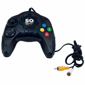 Controle Console Dreamgear Plug N Play 50 Jogos